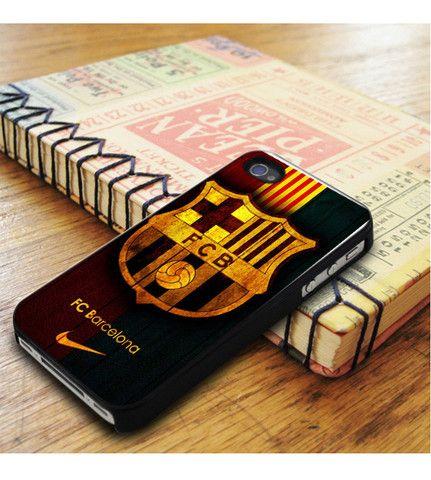 Fc Barcelona Wood iPhone 5|iPhone 5S Case