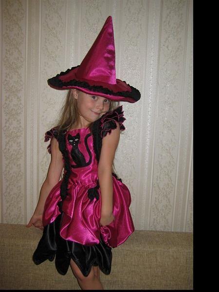 Детский костюм ведьмы своими руками