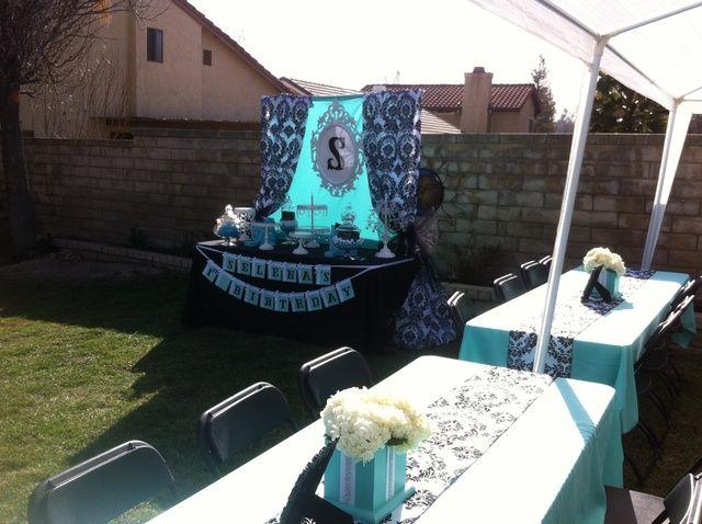 Breakfast at Tiffany's Birthday Party Ideas | Photo 1 of 18 | Catch My Party