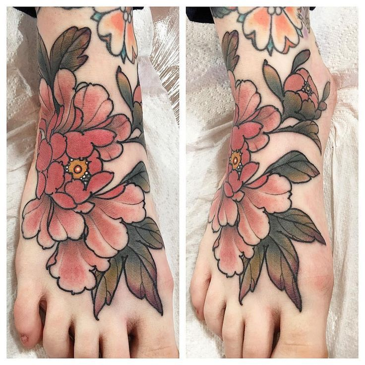 Image result for pointillism tattoo feet