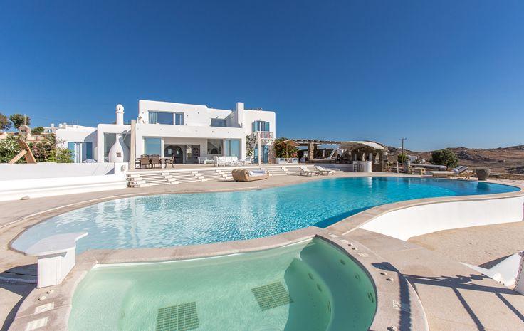 ALEGRIA villa | pool jacuzzi-heated-with 6 seats | Mykonos