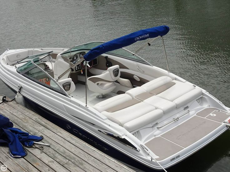 215 SS BOWRIDER powered by a 5.0L Mercruiser I/O, with bimini top!