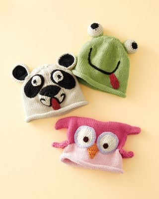 Baby Animal Hat ..... Um yeah, the OWL one!!  For my grand-baby girls, how cute.