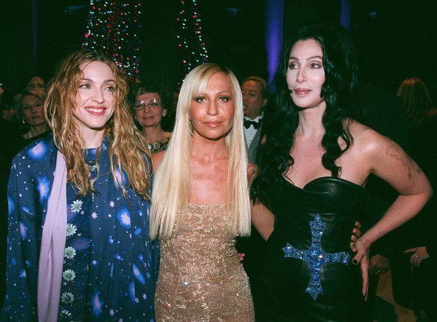 Así se vestía la gente para la Gala del MET en los 90
