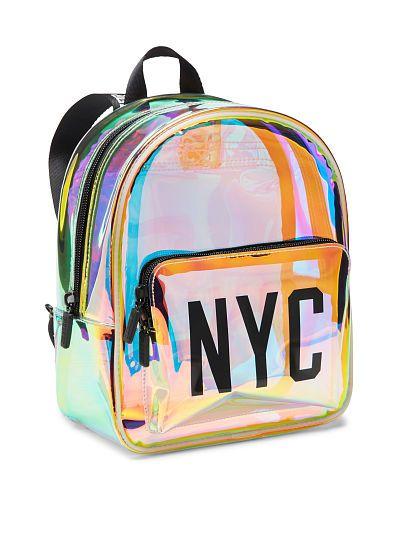 89b861bb0631 Iridescent Mini Backpack