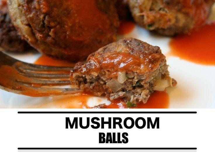 Barbecue recept: Mushroom balls