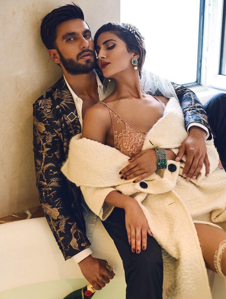 Myra Magazine • Harper's Bazaar Editorial - Vaani Kapoor & Ranveer Singh • https://www.myramagazine.com/home/2016/12/12/harpers-bazaar