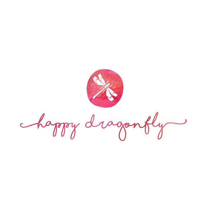 Photography logo, Feminine blog design, Watercolor logo, Calligraphy logo, Custom logo design, Watercolor clipart, Artist logo design, pl40 by TaunaDesignStudio on Etsy