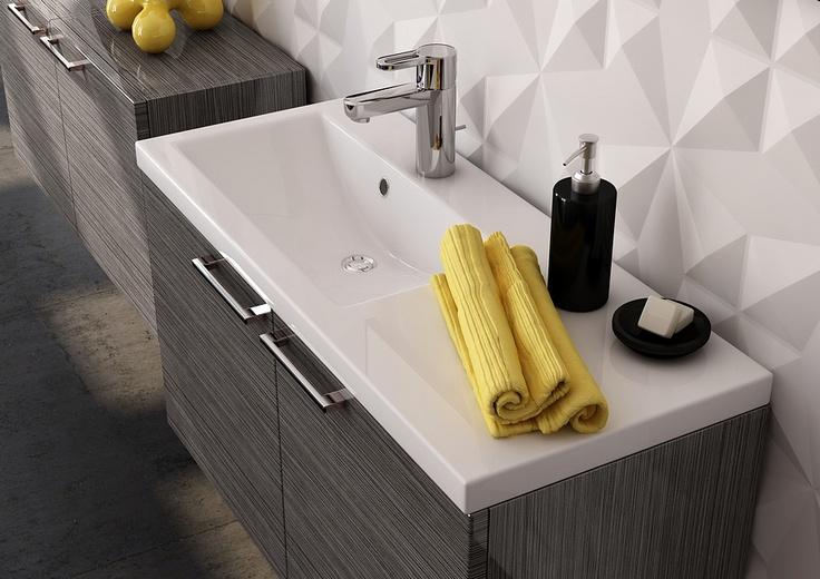 grey bathroom furniture Antado #łazienka