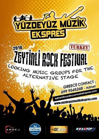 Zeytinli Rock Fest - ΔΙΑΓΩΝΙΣΜΟΣ για Ελληνικά συγκροτήματα ± Principal Club (17/04/2016)