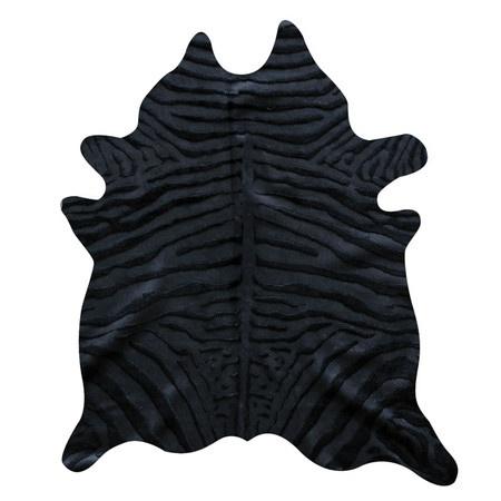 Togo Cowhide in Black Zebra 7x6 $353