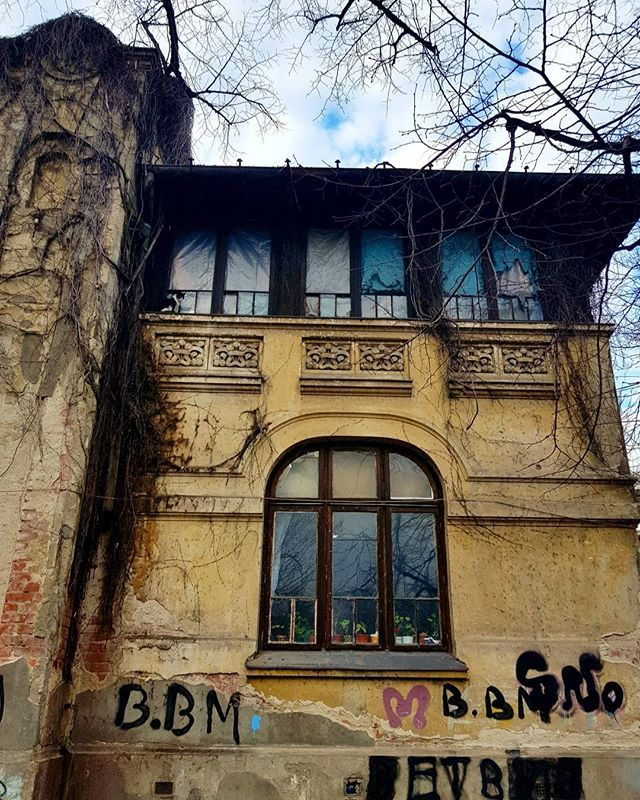 Casa Pompiliu Eliade. Construita in 1907 de arhitectul Henry Susskind