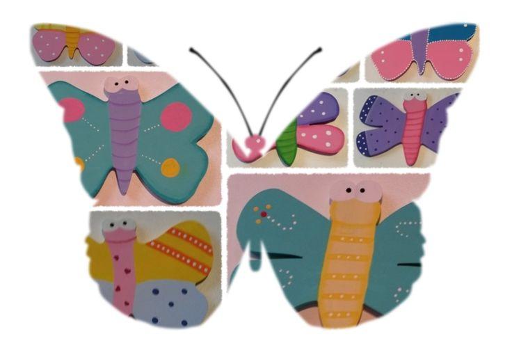 La mariposas representan el alma femenina, es por eso que son comúnmente usadas por las mujeres, encierra la delicadeza, la fragilidad y su vuelo suave y lleno de calma evidencia el gran aspecto positivo de ellas. #tendencias #moda #bisuteria #ceramica #madera #vidrio #decorasu