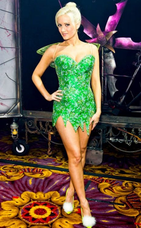 Holly Madison - tinkerbell. She has the cutest costumes