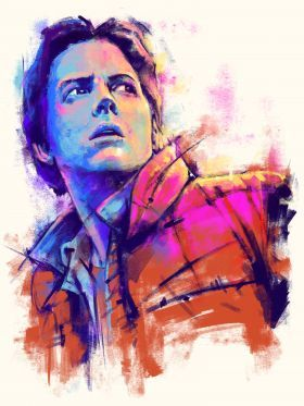 Back to the Future - Marty McFly
