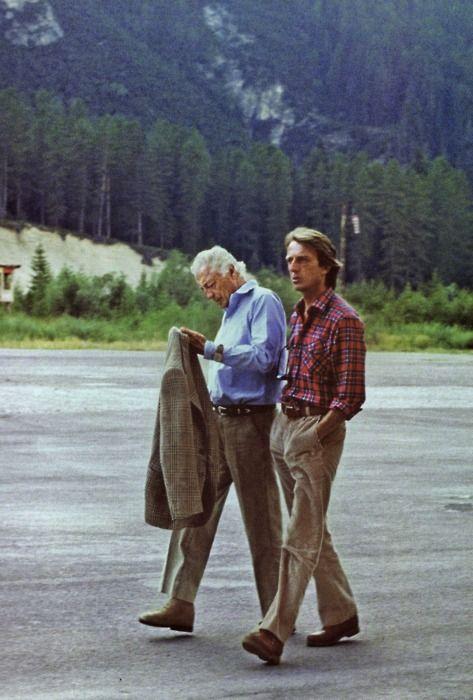 Gianni and Montezemolo.