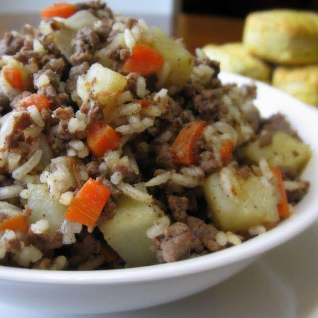 Easy Venison And Rice Recipe Yummly Recipe Venison Recipes Deer Meat Recipes Deer Recipes