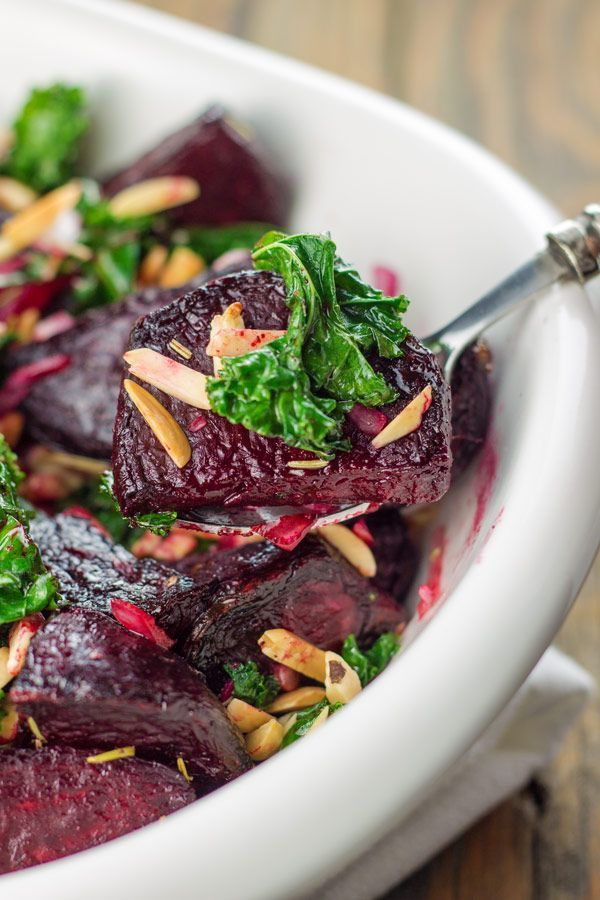 Roasted Beet and Kale Salad | Recipe | Roasted beets ...