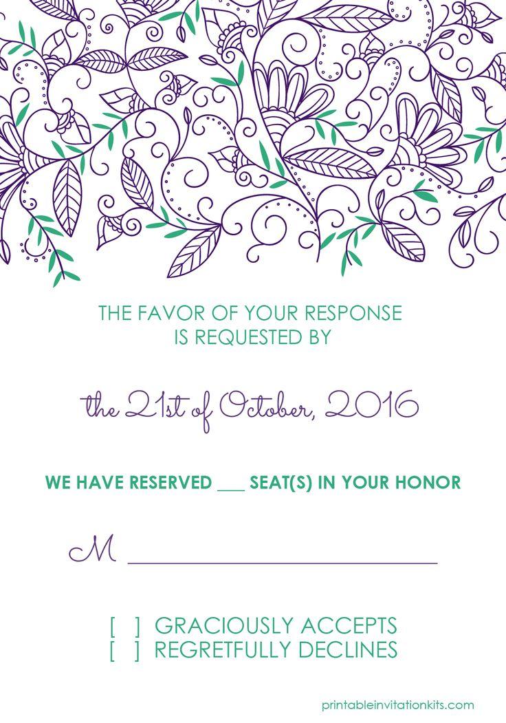 pdf wedding invitation templates free - 28 images - free pdf wedding ...