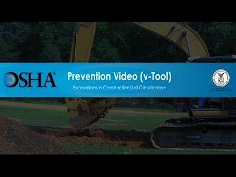 OSHA vTool▶ Excavations in Construction/Soil Classification - YouTube