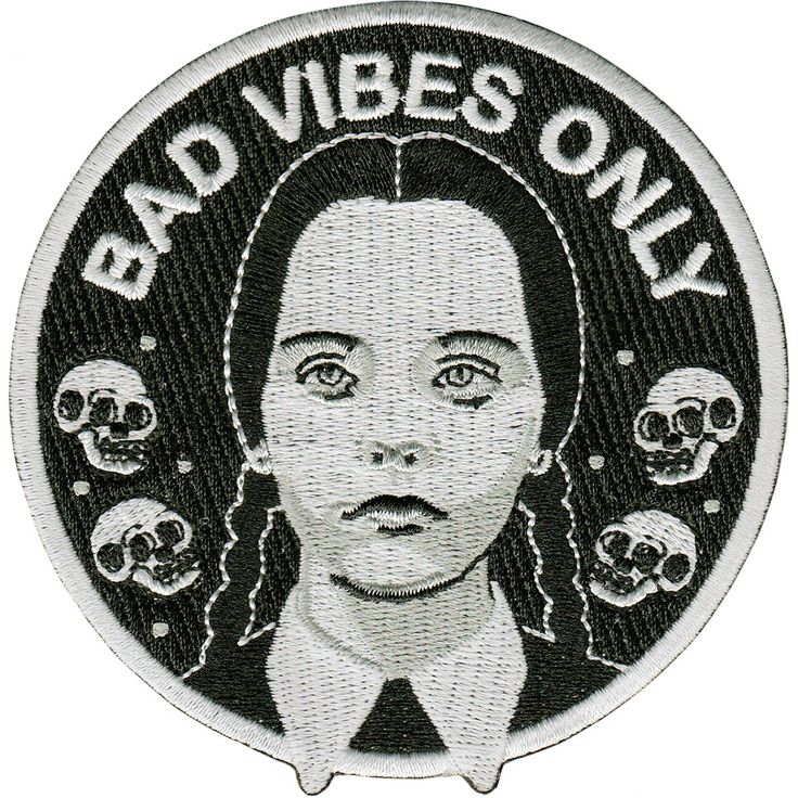Image of Bad Vibes Only patch