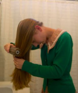 Today I gave my hair a bit of a trim at home. I've been trimming my hair every few weeks recently to keep it healthy and nice. The last ...