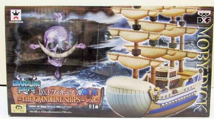 One Piece Moby Dick Figure The Grandline Ships Vol. 2 Banpresto