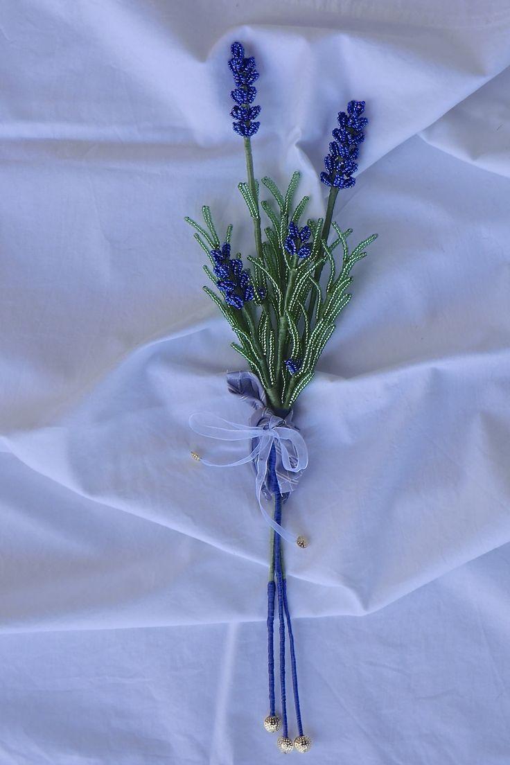 Beads Lavender ramage