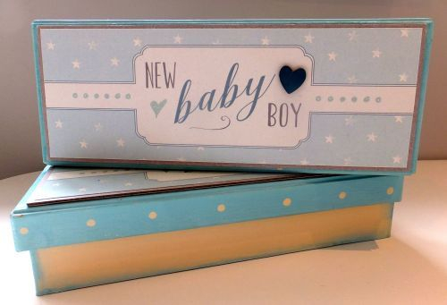 New Baby Boy Gift Box by East of India