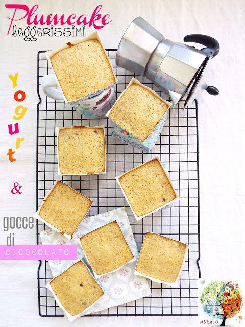 I biscotti della zia: Plumcake leggerissimi allo yogurt e gocce di ciocc...