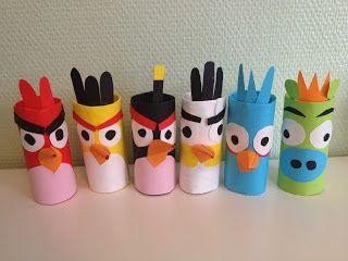 Piinan Ploki: Angry Birds-askartelu (in finnish)