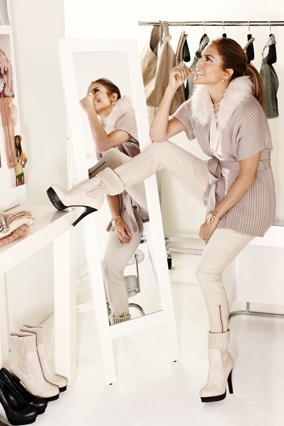 So excited about Jennifer Lopez's new line for Kohl's! I see this outfit in my future.