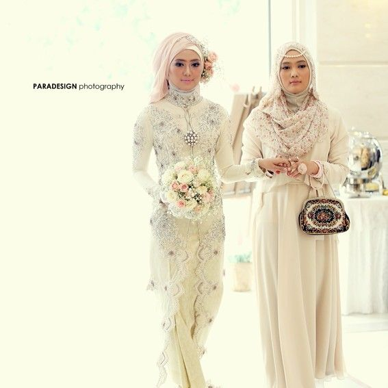 Moslem bride & daughter