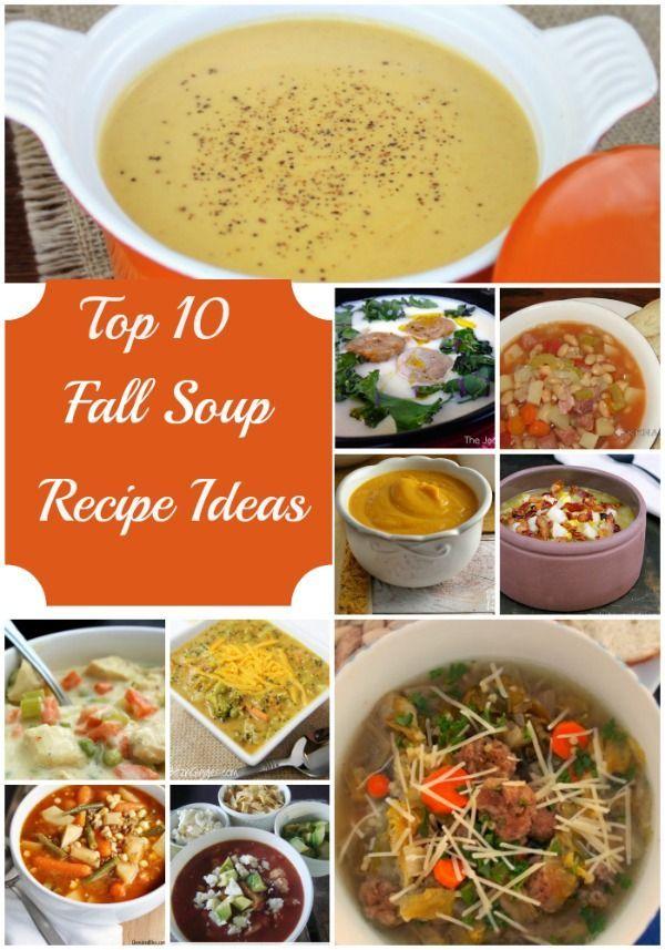Top 10 Fall Soup Recipe Ideas