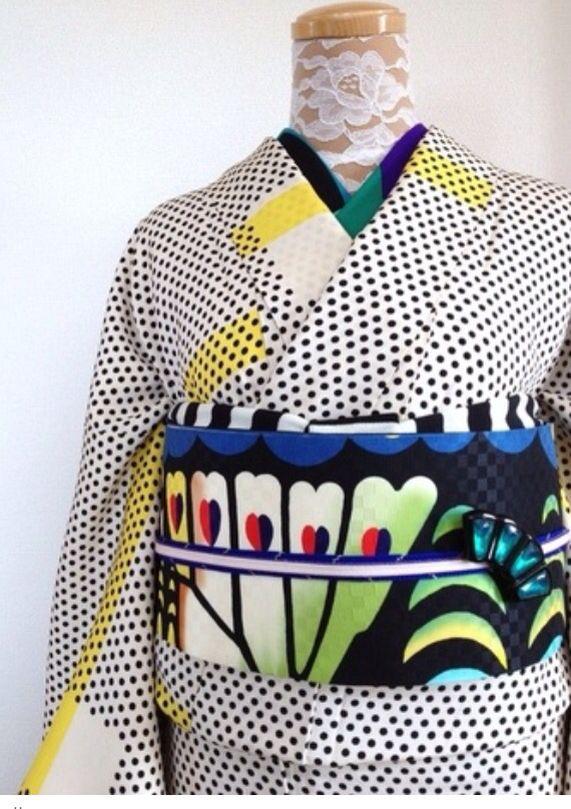 <O> kimono