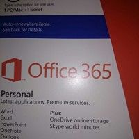 "Microsoft Corporation - Microsoft Office 365 Personal 32/64-Bit - Subscription License - 1 Pc/Mac, 1 Tablet - Non-Commercial - Pc, Intel-Based Mac, Handheld - English ""Product Category: Software Products/Software Licensing""   The newest from Office: Office 365 Personal has the latest version of the applications you know and love, plus cloud services so you can have Read  more http://themarketplacespot.com/ipad/microsoft-corporation-microsoft-office-365-personal-32-64-bit-subs"