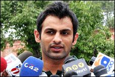 Shoaib Malik the new Skipper