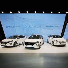 #현대자동차 는 '2016 #제네바 국제 #모터쇼 ' 에서 #세계최초 로 #하이브리드 , #전기차 , #플러그인하이브리드 의 3가지 타입의 기술이 적용된 #친환경 #전용차 #아이오닉 을 #공개 했습니다  #Hyundai #Motor presents a #eco_friendly car , #IONIQ with applied three types of technologies such as #HEV , #PHEV , #EV for the #first time in the #world at 2016 #Geneva #International #Motor #Show  #lineup #Palexpo #Swiss #자동차 #라인업 #스위스 #팔렉스포