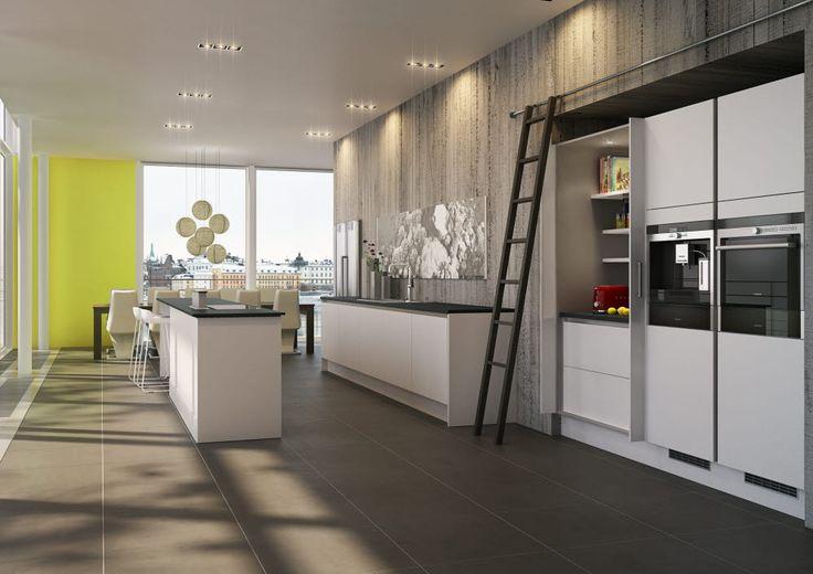 A la Carte -keittiöt Neve- aamiaskaappi Pocketti #keittiö #kitchen
