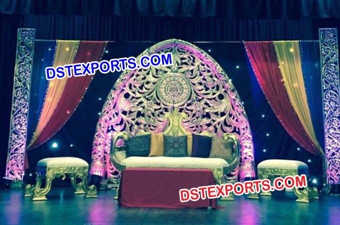 #Royal #Indian #Wedding #Stage #Set #Dstexports
