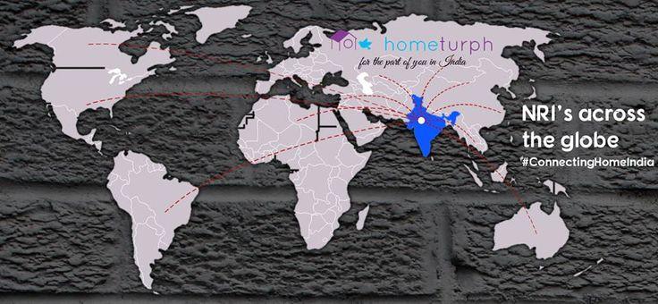 #Hometurph, bridging the gap between #NRIs and their responsibilities back in India. #LaunchOfHometurph Follow us.