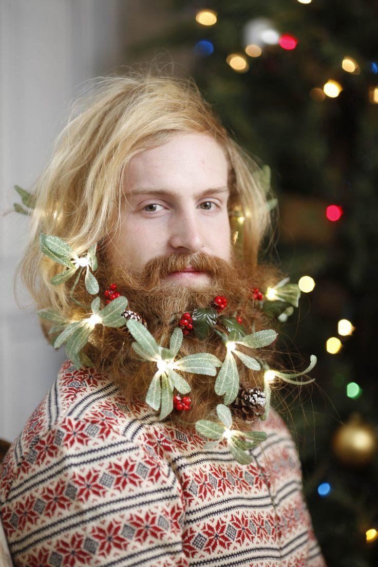 9 best Christmas Beards images on Pinterest | Bearded men, Awesome ...