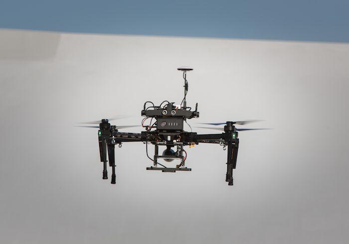 Al asociarse con DJI, Lufthansa Servicios Aéreos tiene la intención de proponer la solución drone más completa © Lufthansa Aerial Services
