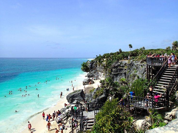 Tulum, Mexico #Mexico #Mexiko #Tulum #Beach #Strand #paradis #paradise #vacker #beautiful #vacation #semester #ocean #hav