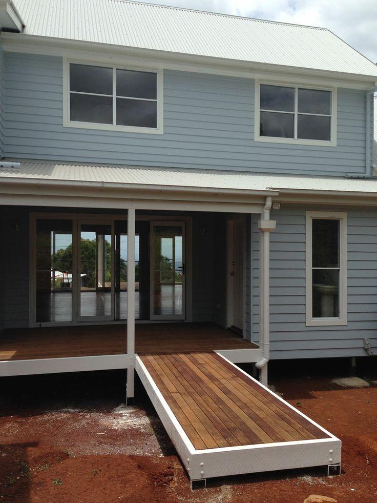 Cape Cod style home in Mount Tamborine - in progress!
