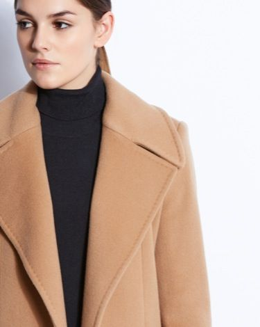 Paul Costelloe Living Studio Roberta coat in camel