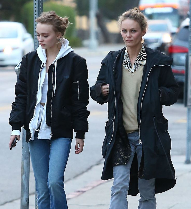 Vanessa Paradis Does Some Shopping With Her Look-Alike ...