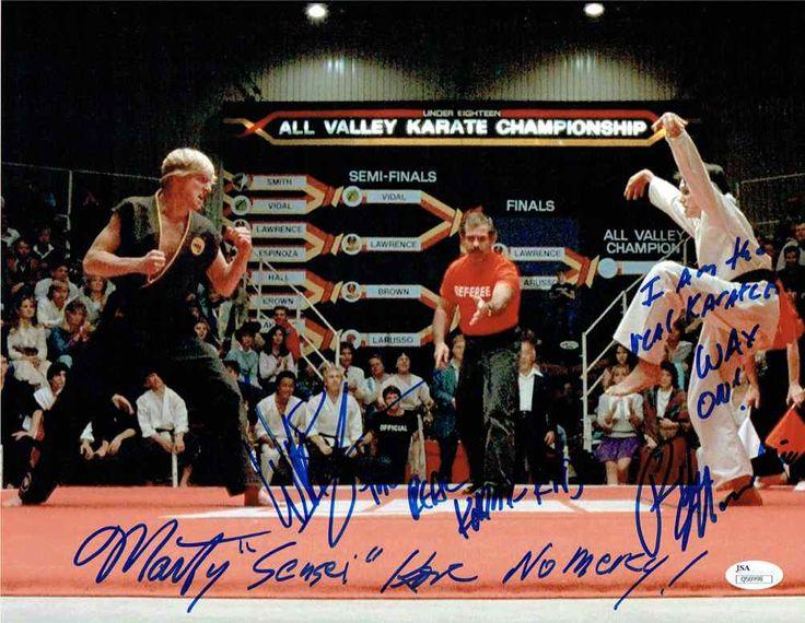 Karate Kid Cast Signed 11x14 Photo Certified Authentic JSA COA