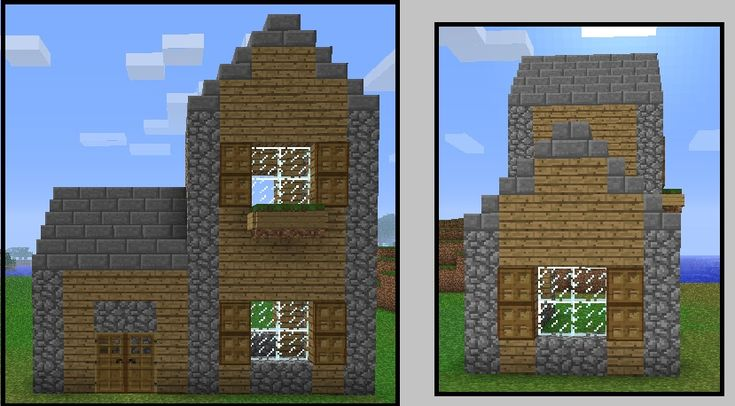 architecture simple minecraft house step cute house with