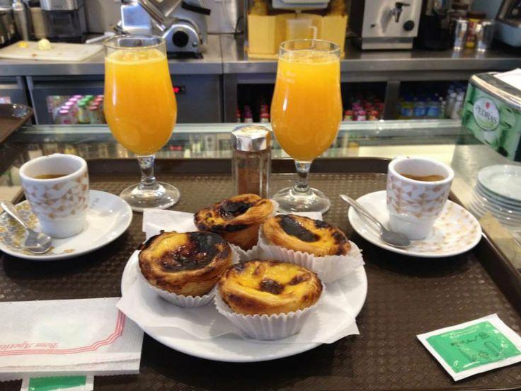 Pastéis de Belém #pasticcino tipico portoghese a base di #uova Ottimi se provati con una spolverata di #cannella